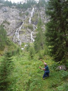 Daoyin alla Obstanser wasserfall (Austria)