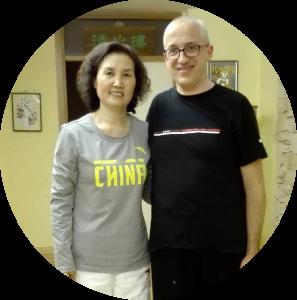 Io e la professoressa Yang Li
