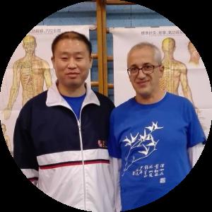 Io e il Prof. Zhang Jian.